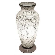 White Greco-Roman Style Vase Lamp