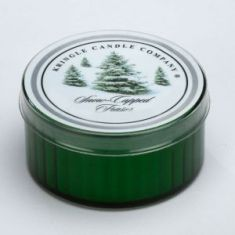 Snow Capped Fraser Coloured Daylight Candle - Kringle Candles
