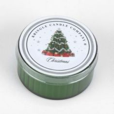 Christmas Coloured Daylight Candle - Kringle Candles