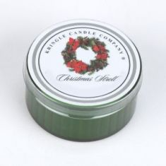 Christmas Stroll Coloured Daylight Candle - Kringle Candles