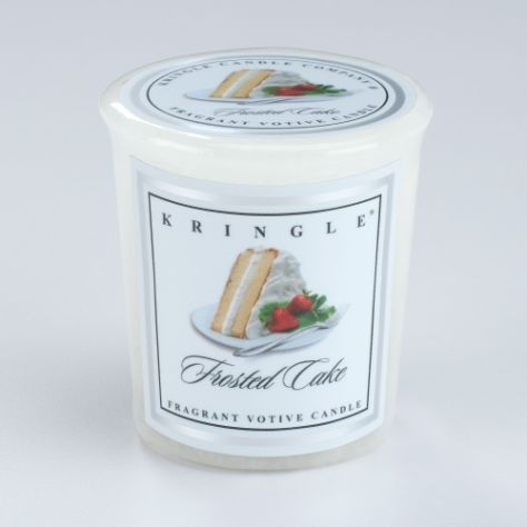 Kringle Candle Votive - Frosted Cake