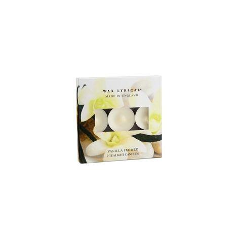 Wax Lyrical Made In England T-Lights - Vanilla Flower