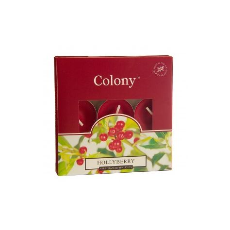 Wax Lyrical Colony T-Lights - Hollyberry