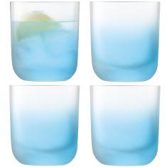 LSA International Haze Collection - Sky Blue Small Tumblers
