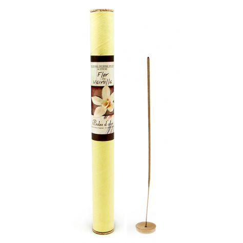 Atlantic Scents Boles D'Olor Incense Sticks - Flor Vainilla (Vanilla Flower)