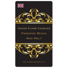 Naked Flame Candles Wax Melt Pack - Paradise Beach