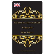 Naked Flame Candles Wax Melt Pack - Fireside