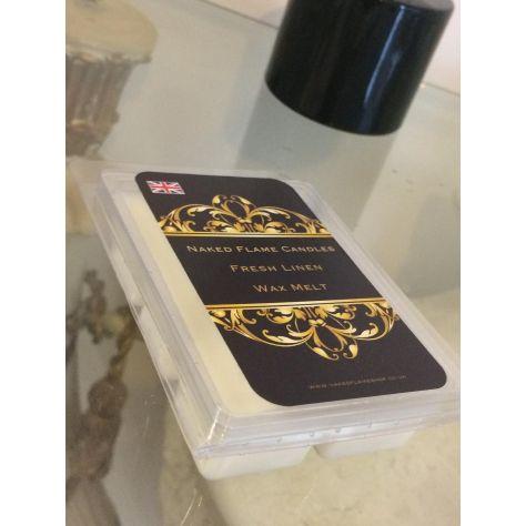 Naked Flame Candles Wax Melt Pack - Fresh Linen