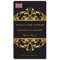Naked Flame Candles Wax Melt Pack - Chocolate Orange