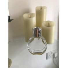 Naked Flame Candles 100ml Penny Glass Diffuser Bottle - Clear