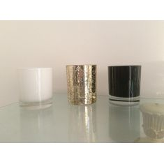 Seychelles Medium Glass Candle by Naked Flame Candles