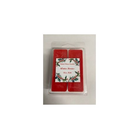 Naked Flame Candles Wax Melt Pack - Winter Berries