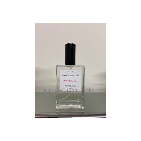 Naked Flame Candles Room Spray 100ml - Pink Champagne