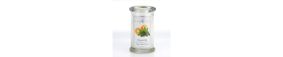 NEW! - Large 2 Wick Classic Apothecary Jars
