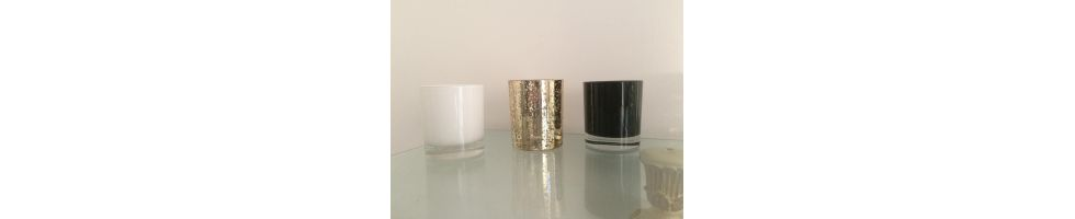 Medium Glass Candles