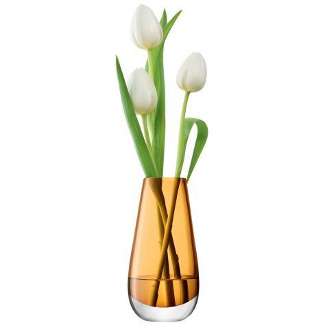 LSA International Flower Colour Vase - Bud Amber
