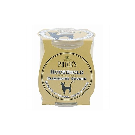 Price's Candles Fresh Air Household Pets Jar Candle