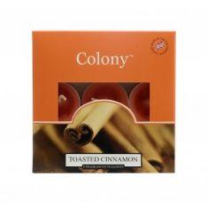 Wax Lyrical Colony T-Lights - Toasted Cinnamon