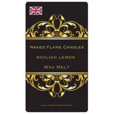Naked Flame Candles Wax Melt Pack - Sicilian Lemon