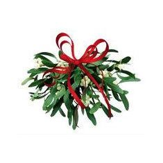 Naked Flame Candles Medium Glass Candle - Under The Mistletoe