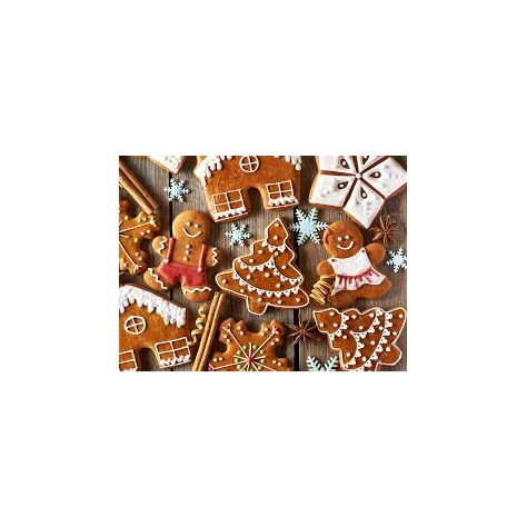 Naked Flame Candles 250ml Reed Diffuser Refill - Gingerbread
