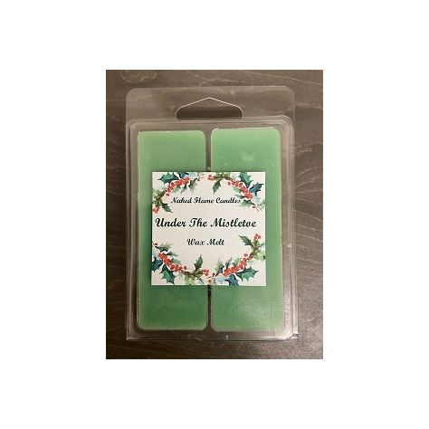 Naked Flame Candles Wax Melt Pack - Under The Mistletoe