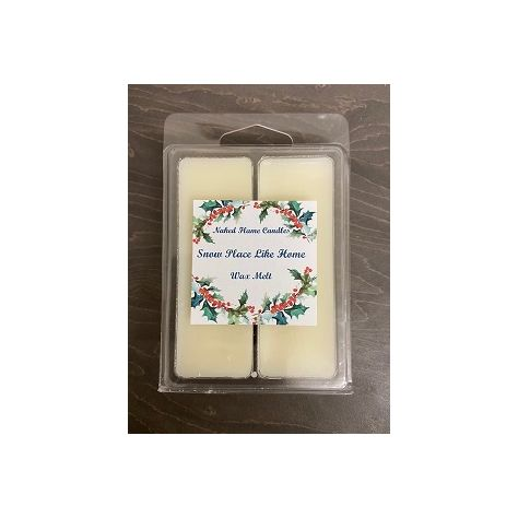 Naked Flame Candles Wax Melt Pack - Snow Place Like Home