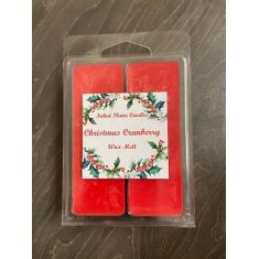 Naked Flame Candles Wax Melt Pack - Christmas Cranberry