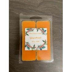 Naked Flame Candles Wax Melt Pack - Gingerbread