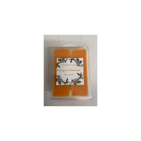 Naked Flame Candles Wax Melt Pack - Orange & Cinnamon