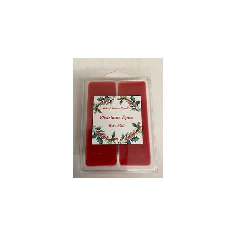 Naked Flame Candles Wax Melt Pack - Christmas Spice