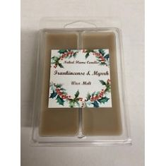 Naked Flame Candles Wax Melt Pack - Frankincense & Myrrh