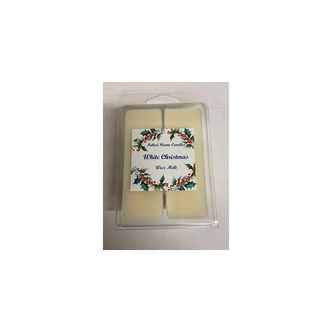 Naked Flame Candles Wax Melt Pack - White Christmas