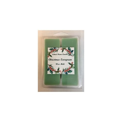 Naked Flame Candles Wax Melt Pack - Christmas Evergreen