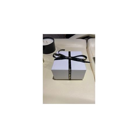Naked Flame Candles Luxury Candle / Gift Box - Large White